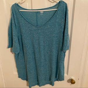 Light Blue Long T-shirt